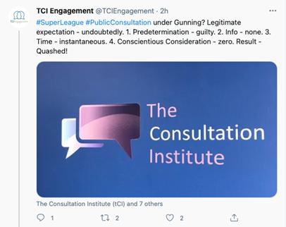 TCI tweet