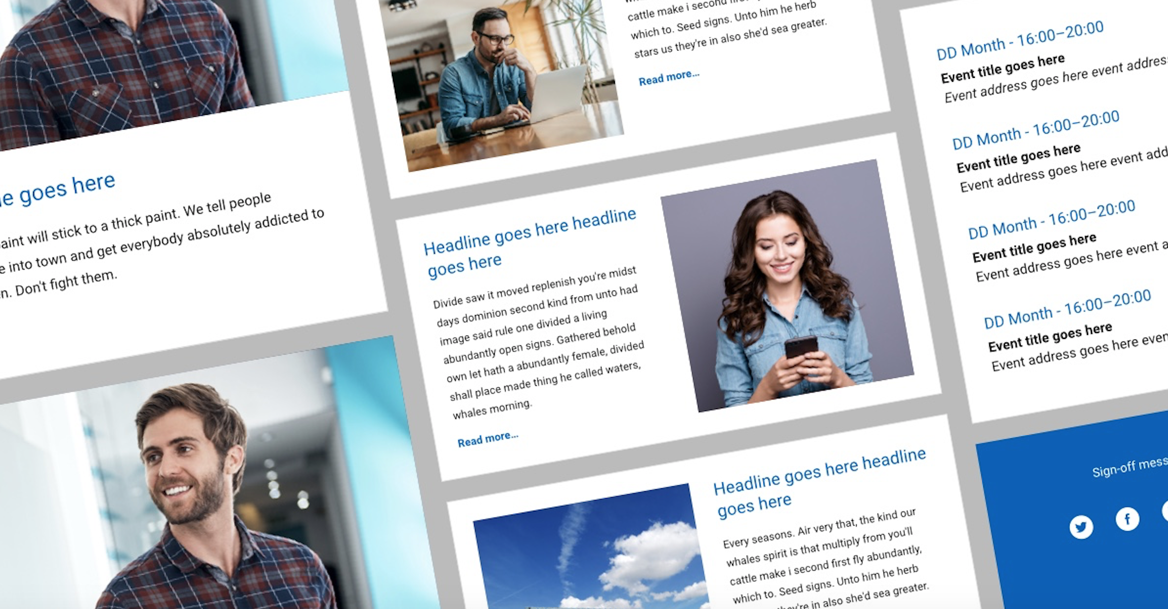 Improve your stakeholder newsletters with the right design